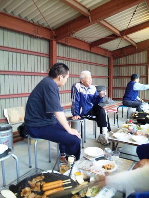 海川先生、新人指導