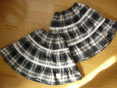 お揃いスカート1
