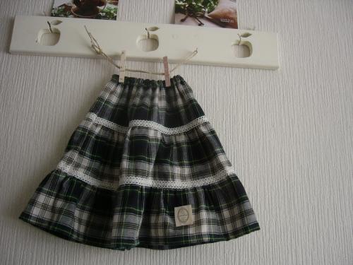 お揃いスカート2