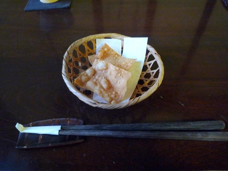 手打ち蕎麦 かね井 そばの揚げたん