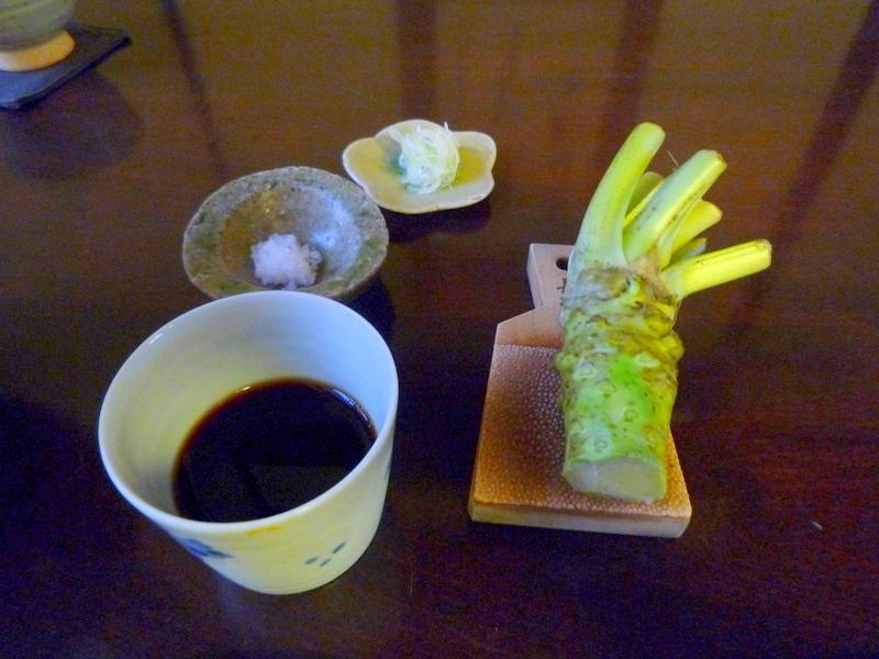 手打ち蕎麦 かね井 薬味-1