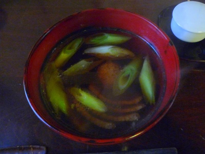 手打ち蕎麦 かね井 鴨ざるそば(抜き)2