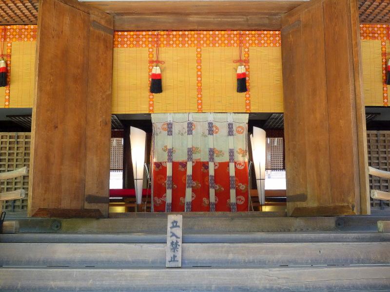 宇治上神社 拝殿5-1