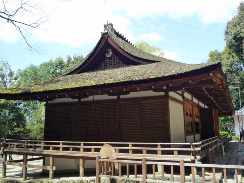宇治上神社 拝殿3