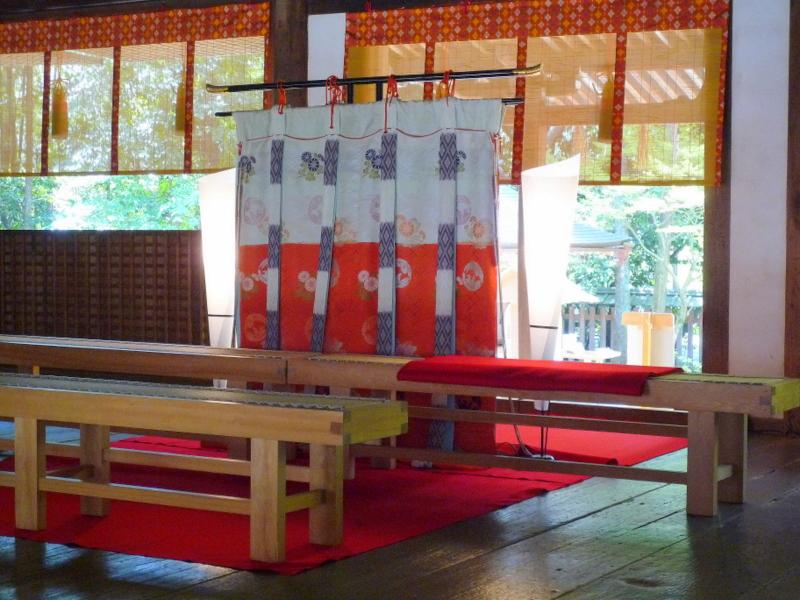 宇治上神社 拝殿6