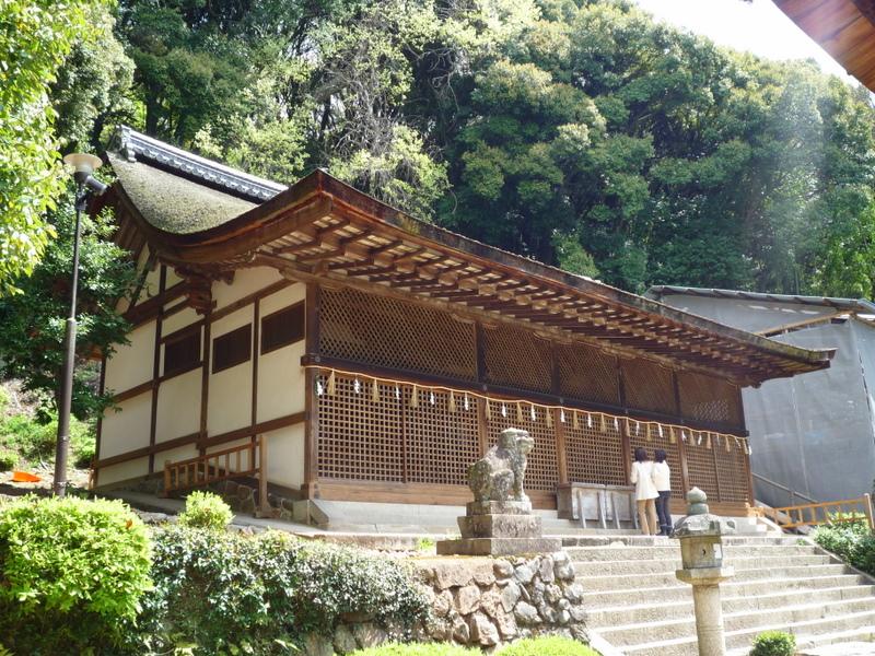 宇治上神社 本殿1
