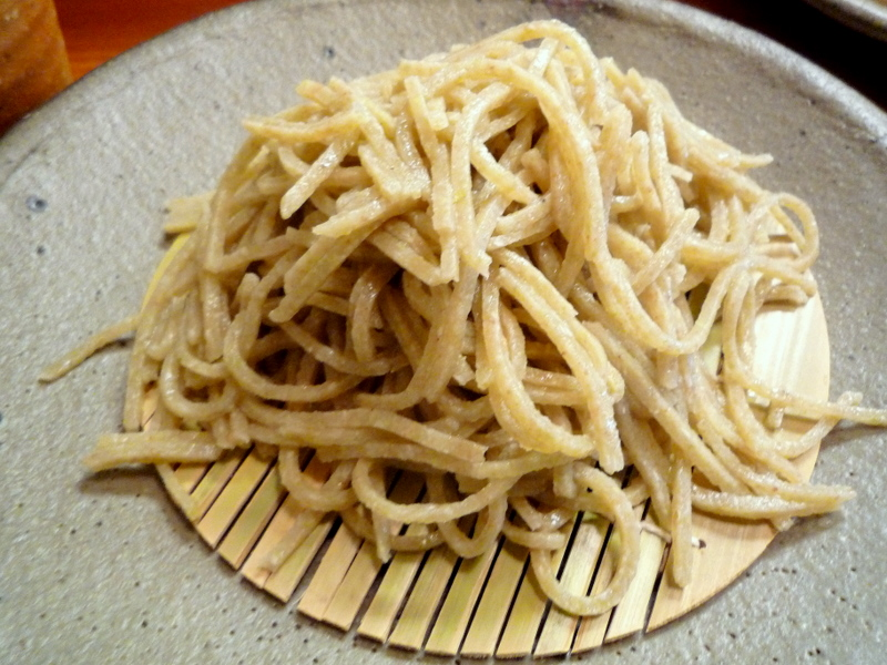 蕎麦工房  膳 ざるそば(粗い目)