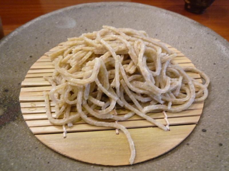蕎麦工房 膳 もりそば(丸岡産 粗い目)1
