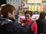 鶴橋店撮影準備