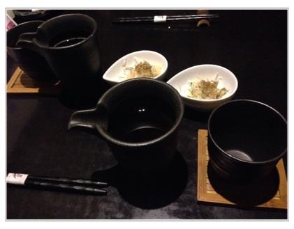 HOT烏龍&HOT緑茶