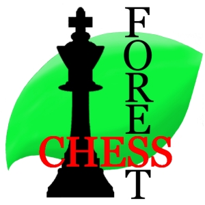 Chess Forest ロゴ red
