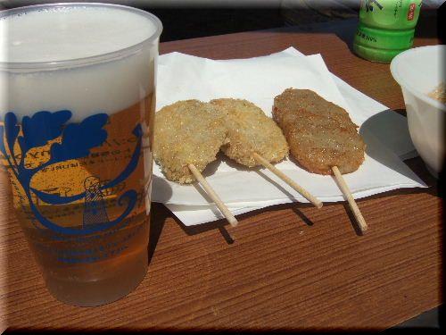 ビールとおつまみ♪
