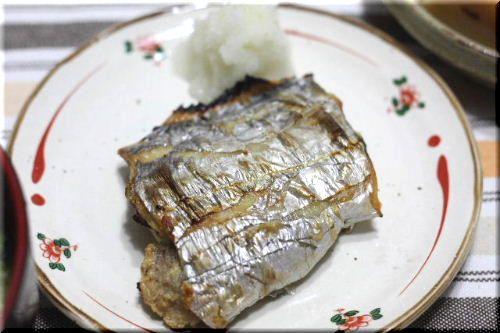太刀魚の塩焼き♪