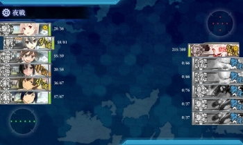 3-5 北方棲姫3戦目夜戦