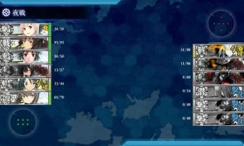 4-3 ケッコンリランカ ボス夜戦