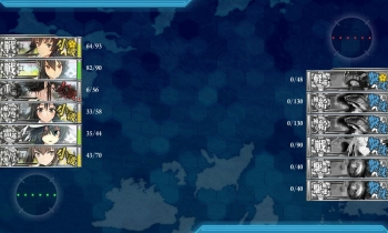 3-5 ボス夜戦全艦撃沈
