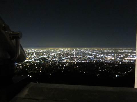 LAの夜景 201409