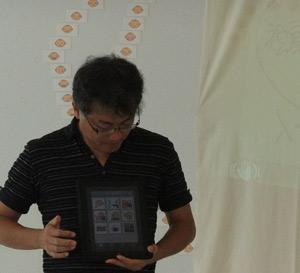 iPadでDropTalk