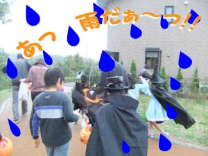 雨だぁー!