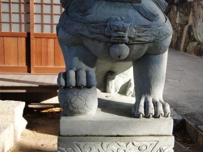 護法神社狛犬