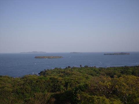 笠山よりの風景