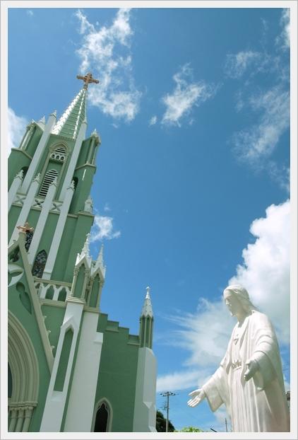 聖フランシスコ・ザビエル記念教会&キリストさん