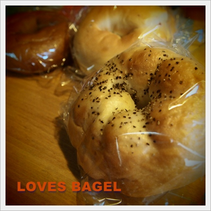 LOVES BAGEL