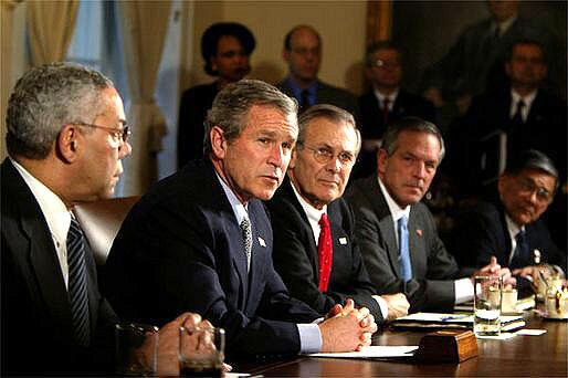 タミフル治療薬大株主はブッシュ大統領と戦争屋ラムズフェルド元国防長官