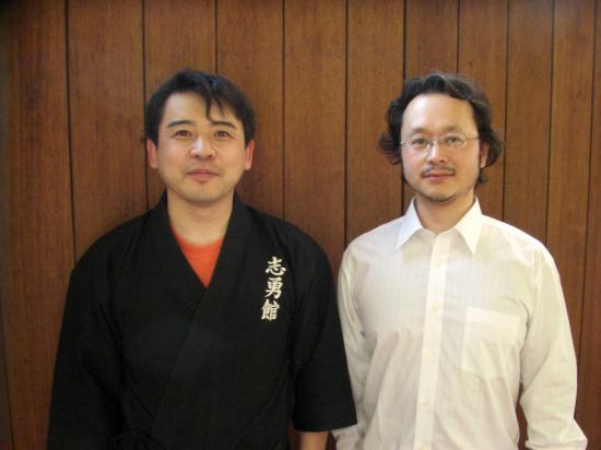 藤沢先生と士郎先生