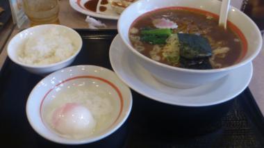すき焼きラーメン2