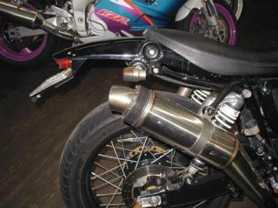 SR400500オリジナルリヤフェンダ-