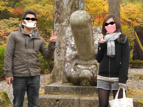 27古峰神社でムッタ&プー