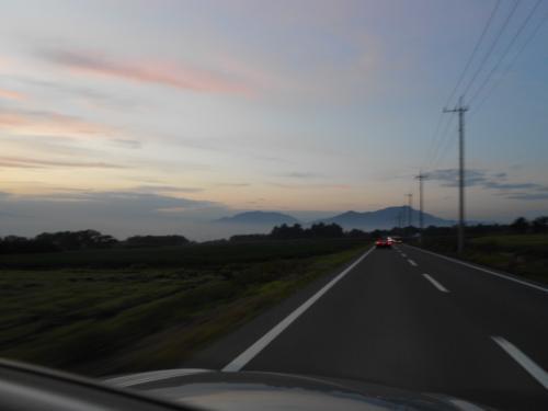 43からっ風街道にてtouch the sky