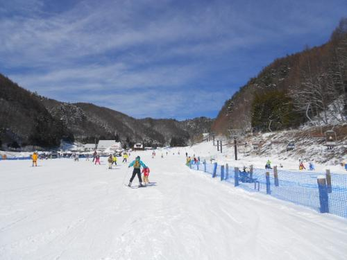 ⑤スキー場