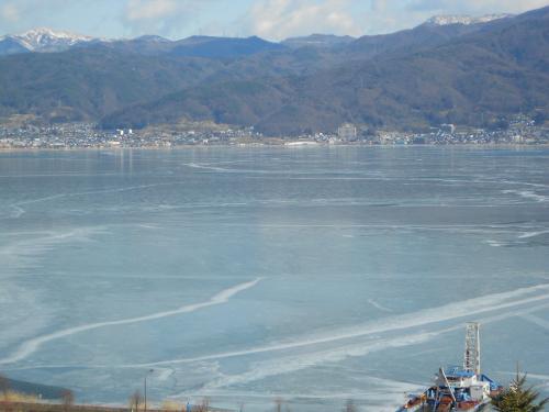 ⑰凍結諏訪湖2