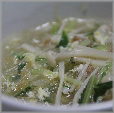 2010.12.28 はるさめスープ