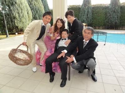 素敵な家族です