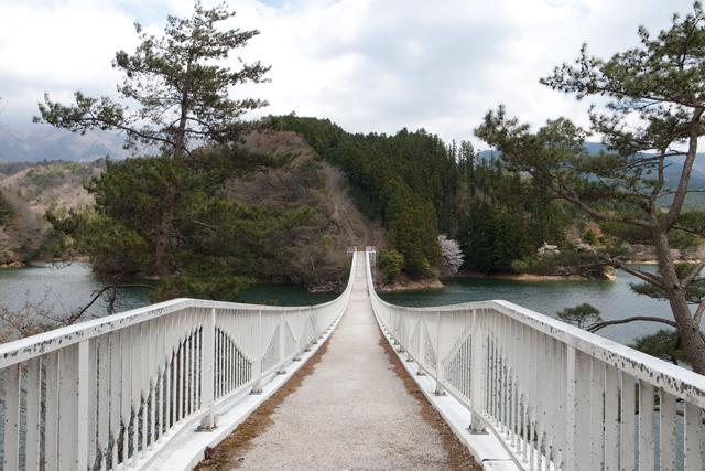 R429面河ダム橋