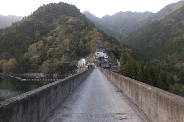長沢ダムサイト