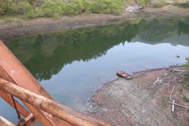 長沢ダム上流