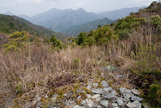 銅山峰眺め