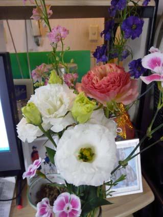 SAI11歳★誕生日のお花