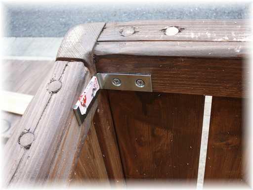 20121110屋外ゴミ箱修理2