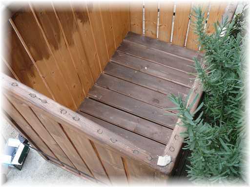 20121110屋外ゴミ箱修理5