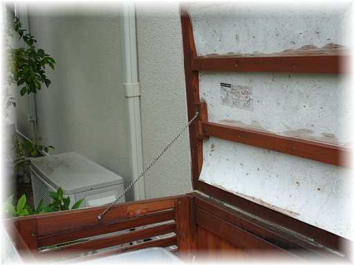 20121125屋外ゴミ箱修理3