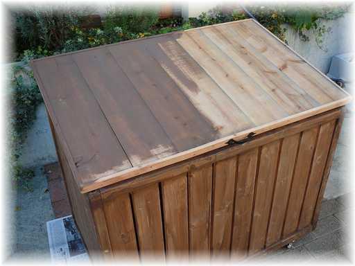 20121125屋外ゴミ箱修理8