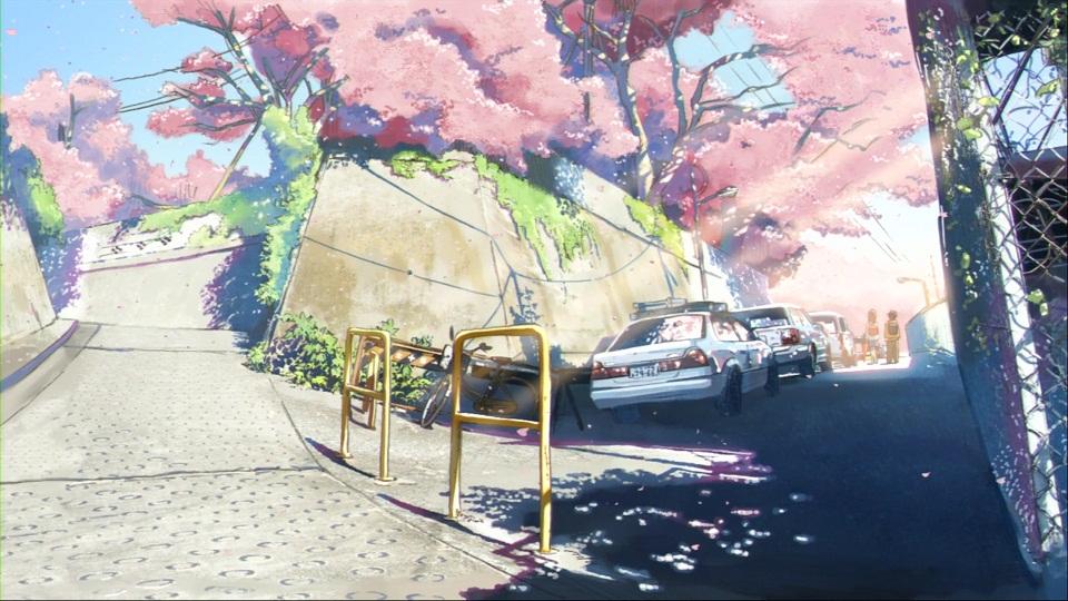 秒速5センチメートル 第01話 「桜花抄」 002