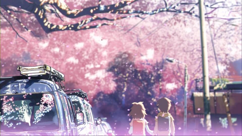 秒速5センチメートル 第01話 「桜花抄」 001