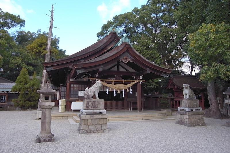 知立市知立神社多宝塔を訪ねる - お城と仏塔を巡る、電車の旅