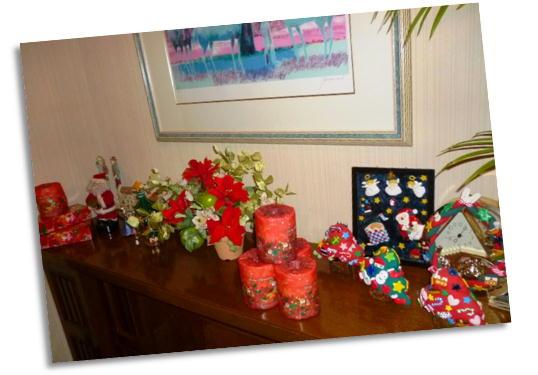 クリスマス玄関2012